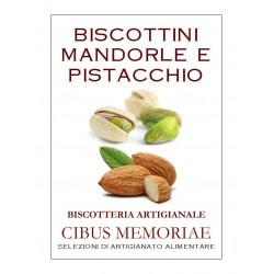 Biscottini con mandorle e pistacchio
