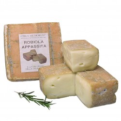 Raw milk aged robiola from Valsassina