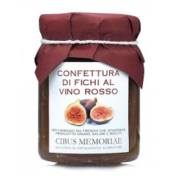 Fig and red wine preserve