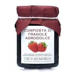 Confettura di fragole agrodolce