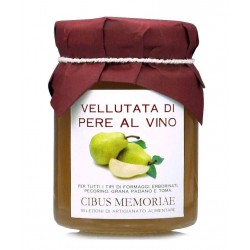 Pears and wine preserve