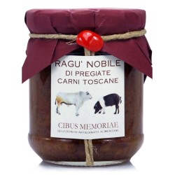 Noble ragout with fine Tuscan meats