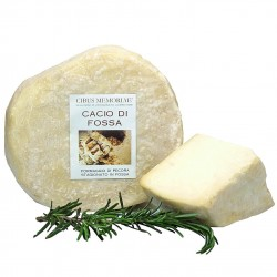 """Cacio di fossa, pecorino """"cheese of the pit"""""""