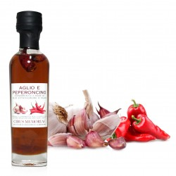 GARLIC AND CHILI PEPPER OLIVE OIL DRESSING